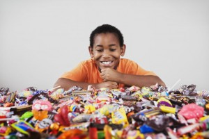Candy can change your child's brain even after one fun Halloween.