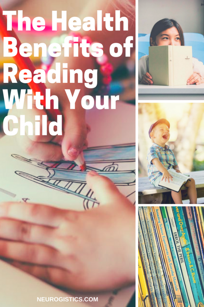 Reading to your child has many health benefits. Studies show that the benefits of reading to children can be seen in brain development, behavior and IQ.