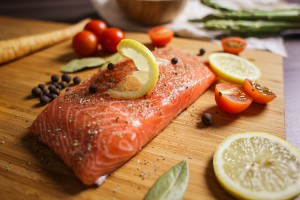 Increase dopamine - salmon and lemons