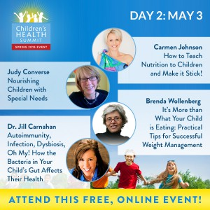 Day 2 - Join 27 amazing experts online May 2nd to 9th for the Third Biannual Children & Teen's Health Summit, brought to you by the Lotus Health Project.