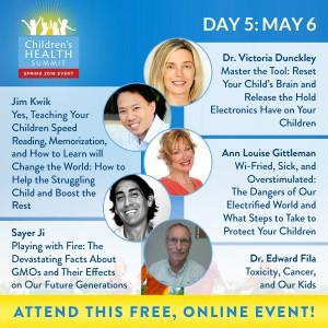 Day 5 - Join 27 amazing experts online May 2nd to 9th for the Third Biannual Children & Teen's Health Summit, brought to you by the Lotus Health Project.